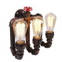 Vintage Wandleuchte Wandlampe Industrie Wand Lampen Water Pipe