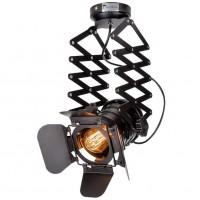 Vintage Decke Spotlight Fixture E27 Spot Light Verstellbare Metallspur Pendelleuchte für Coffee Bar