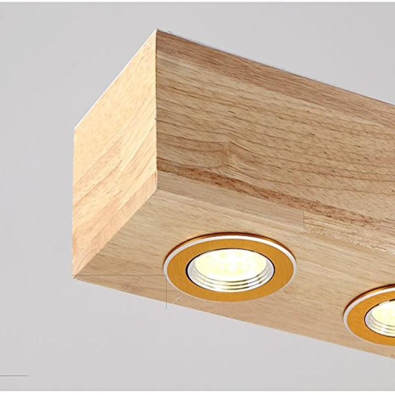 Led Pendelleuchte Esszimmer Aus Holz Hangelleuchte Hohenverstellbar