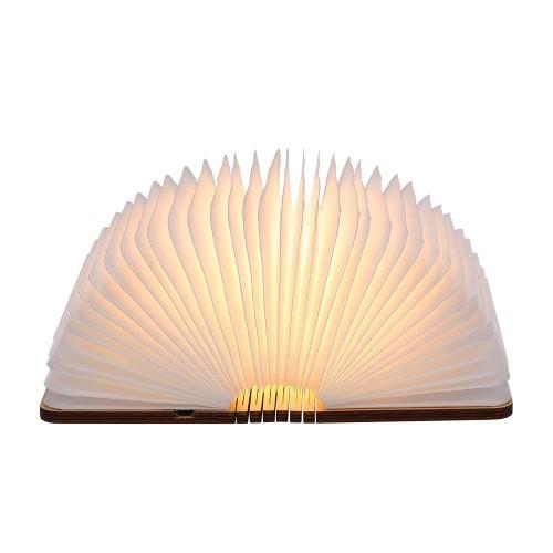 Folding Buch LED Lampe Nachtlicht USB Aufladbare Buch Lampe,Nachttischlampe 360°Faltbar