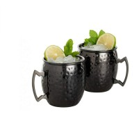 Neues Design Moscow Mule Kupfer Becher Trinkbecher 2er Set