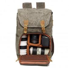 Kamera-Rucksack DSLR-Tasche Reisetasche mit wasserdichter Tasche für Canon Nikon Sony Olympus DSLRs