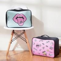 Cartoon wasserdichte Reisetasche Kosmetiktasche Reisetasche große Kapazität
