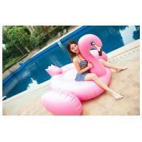 Riesiger Flamingo Aufblasbarer Pool Floß Schwebebett Wasserspielzeug