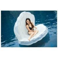 Muschel mit Perle Aufblasbarer Pool Floß Schwebebett Wasserspielzeug