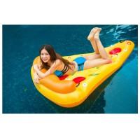 Riesige Pizza Aufblasbarer Pool Floß Schwebebett Wasserspielzeug