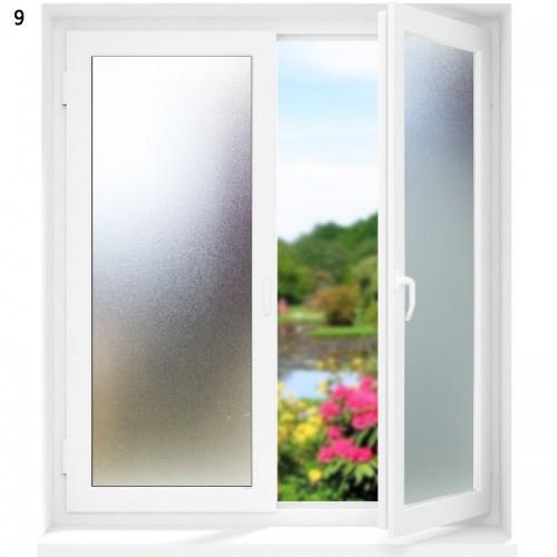 3D statische Fenster Film Dekoration - Fensteraufkleber mit Blumen 45 * 200cm  2 Stück