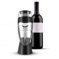 Schnellbelüfter Wein Dekanter Tragbar mit Weinfilter und Halterung