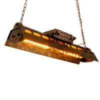 Vintage Industrial Loft Kronleuchter Nostalgie Metall Höheverstellbar