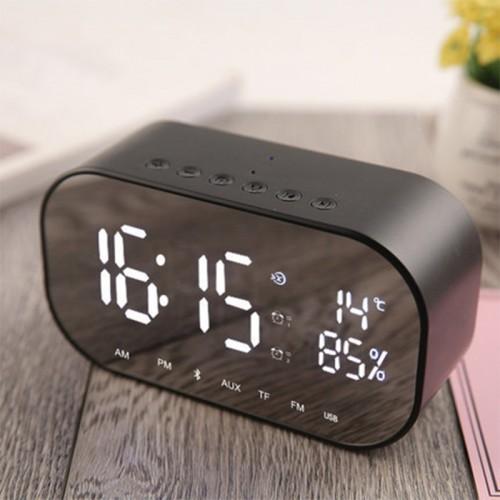 Wecker Lautsprecher Audio Wireless Bluetooth Subwoofer neue kreative Nachttischlautsprecher