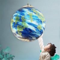 Creative Nordic minimalistischen Einkopf-Planetarischer Kronleuchter Erde Kinderzimmer Lampe Chandelier