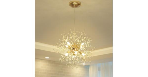 Moderne löwenzahn kronleuchter deckenleuchte lampe anhänger home