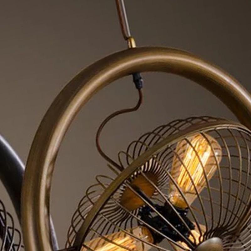 Top Moderne Hängeleuchte Loft Retro Industrial Wind Bügeleisen VP58