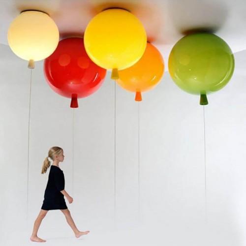 Ballon Deckenleuchte Hängelampe Acryl Modern Loft Lampenschirm Kid Schlafzimmer Licht