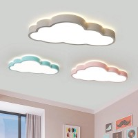 Neu LED Deckenleuchte  360 ° Beleuchtung Kreative Wolken Deckenlampe Kinderzimmer Deckenleuchte Jungen Und Mädchen Schlafzimmer Lampe Einfache Cartoon Romantische Deckenlampe