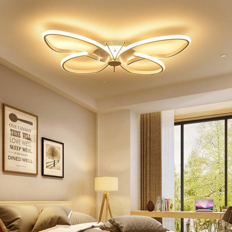LED Deckenleuchte Kinderzimmer Deckenlampe, Fernbedienung Dimmbare  Decken-Beleuchtung, Modern Mode leuchte, Schmetterlinge Kreative Design,  Schön ...