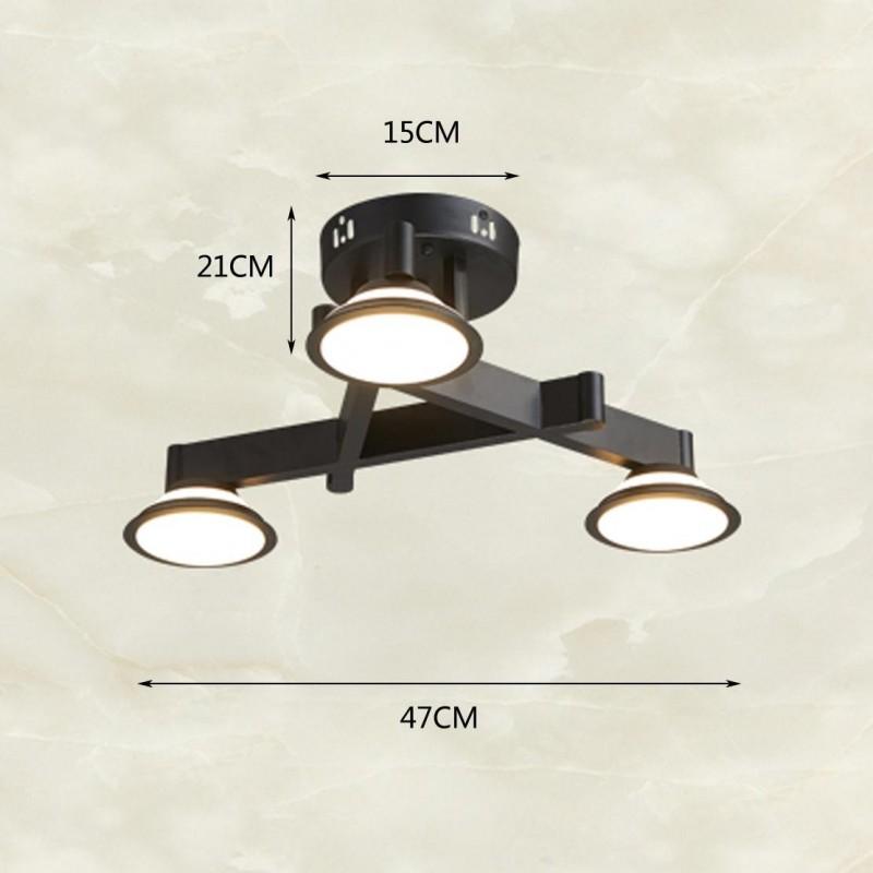 Retro Design Deckenlampe LED Deckenleuchte Industrielampe