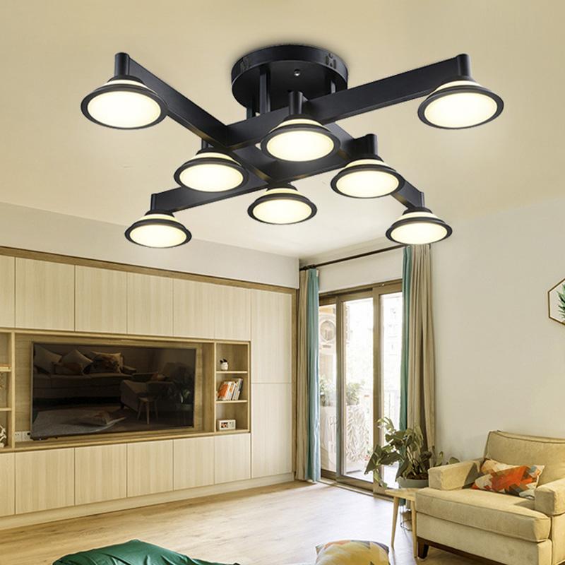 Retro Design Deckenlampe LED Deckenleuchte Industrielampe ...