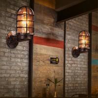Vintage Rustikal Spiegel Wandlampen Bad Wandleuchte Spiegelbeleuchtung