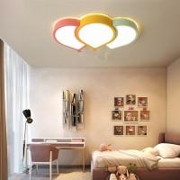 Deckenleuchte LED ultradünne 6cm Kreative Grün  gelb rosa Ballon Licht Deckenlampe Kinderzimmer Deckenleuchte