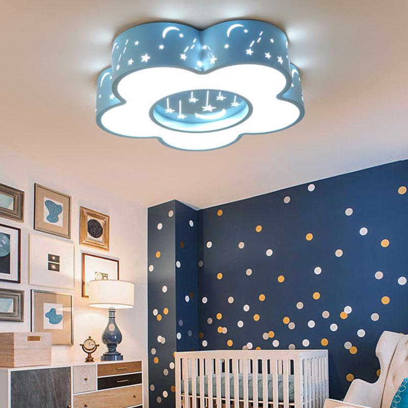 Kinder Decke lampen Kreis Sterne Mond Mädchen Jungen Zimmer ...