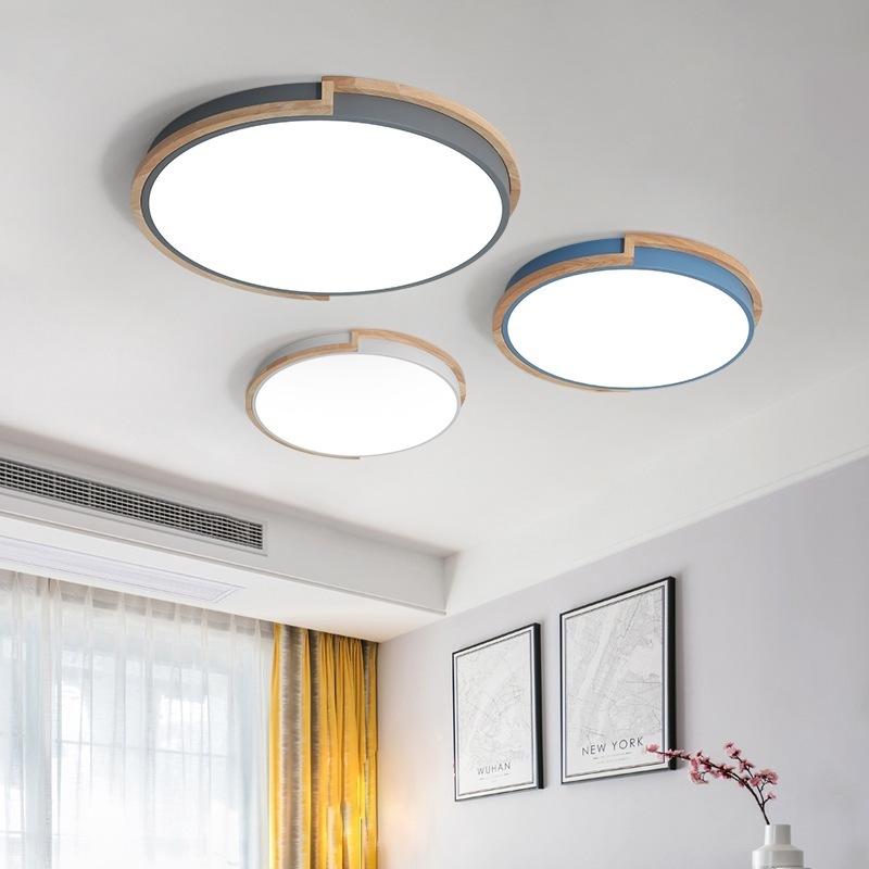 36W LED Deckenleuchte mit Fernbedienung - Runde Deckenlampe ...
