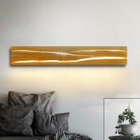 Holz Wandleuchte LED Wandleuchte innen Holz Nachtlampe Nachtlampe für Schlafzimmer Flur Treppe Innenbeleuchtung