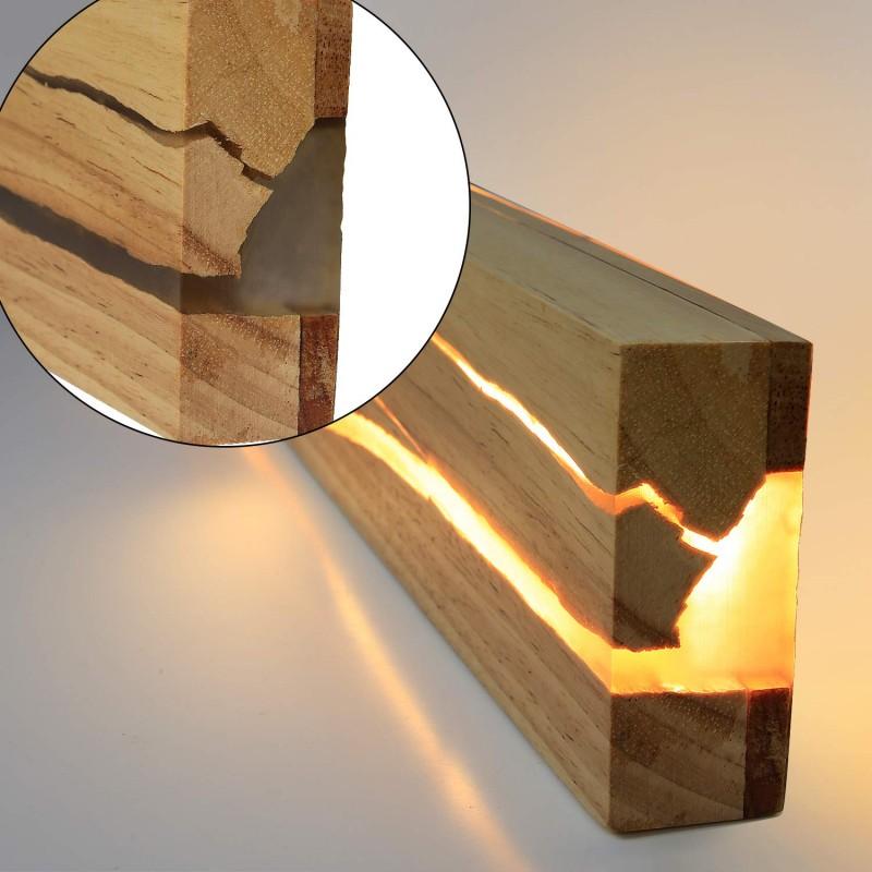 Holz Wandleuchte