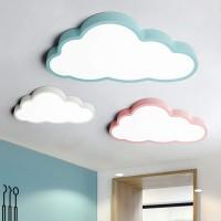 Deckenleuchte LED ultradünne 5 cm Kreative Wolken Deckenlampe Kinderzimmer Deckenleuchte Jungen Und Mädchen Schlafzimmer Lampe Einfache Cartoon Romantische Deckenlampe