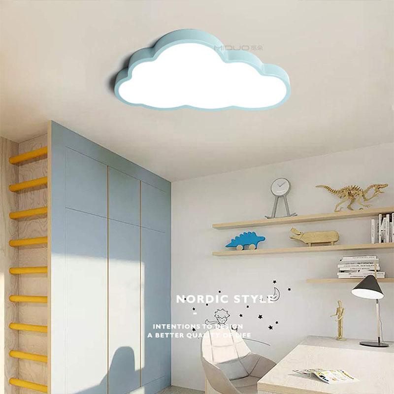 Ultradünne Deckenleuchte Led 5cm Kreative Wolken