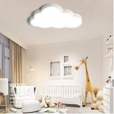 Deckenleuchte LED ultradünne 5 cm Kreative Wolken Deckenlampe Kinderzimmer Deckenleuchte Jungen Und Mädchen Schlafzimmer Lampe Einfache Cartoon Romantische Deckenlampe ( Color : Stufenloses Dimmen )