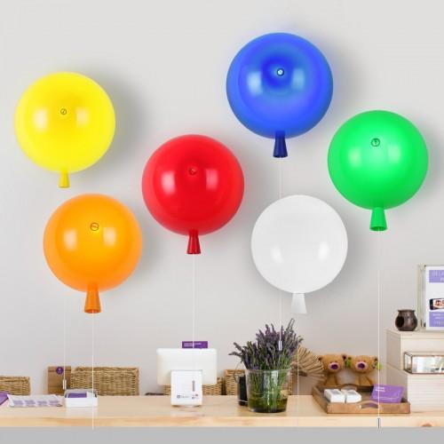Farbe Dekorative Wandleuchte Moderne Wandlampe Mini Ballon Innenbeleuchtung für Schlafzimmer Kinderzimmer Kindergarten Mode Dkoration Wandbeleuchtung