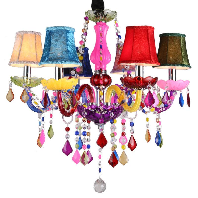 Deckenleuchte Deckenlampe Kronleuchter Lüster Licht Lampe+Acryl Kristallblätter