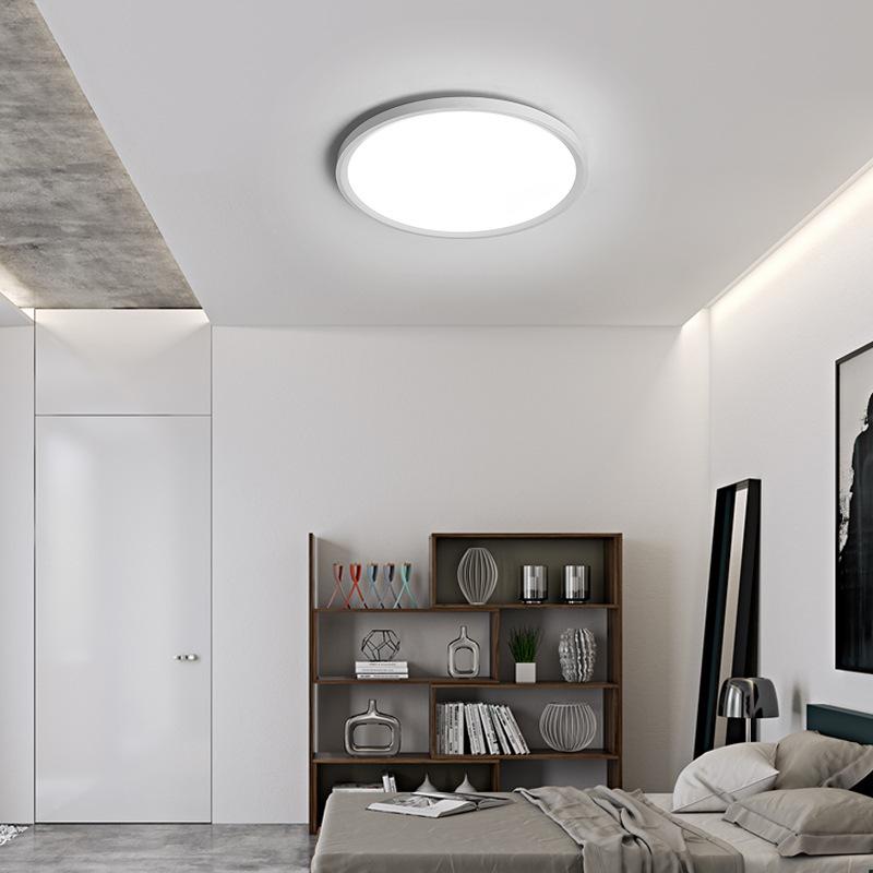 Ultra-dünne Deckenleuchte modern Einfachheit runder LED ...