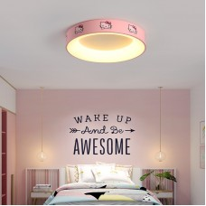 LED Deckenleuchte für´s Kinderzimmer Dreifarbiges Dimmen Cartoonlampe für Jungen Mädchen