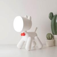 Dog Desk Lamp - 2 in 1 Dog Leselampe & Welpen-Nachtlicht - drehbare Beine & verstellbarer Kopf - wiederaufladbare USB-Mini-Tischlampe