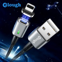 Fast charge data cable 3A magnetic USB charging cable for iphone