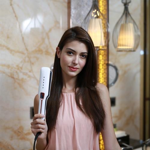 CHJPRO Multifunktionales Dampfspray mit geradem Haar, Infrarot-Haarpflegemittel