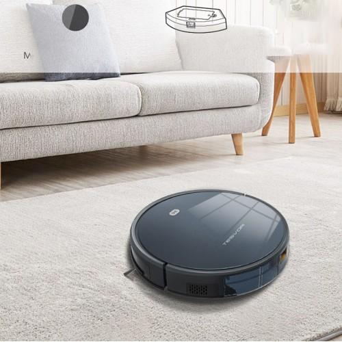 Roboterstaubsauger mit maximaler Saugkraft, Alexa Connectivity, App-Steuerung, Selbstaufladung für harte Böden und dünne Teppiche