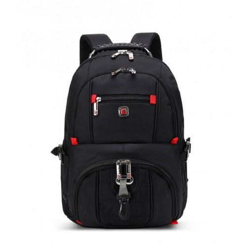 AUGUR wasserdichte robuste Reise Business College School Bookbag für 17 Zoll Laptop & NotebookBackpack