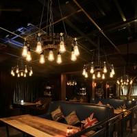 Pendelleuchten, Kronleuchter, American Retro Industrial Wind Gear Pendelleuchte, Guest Cafe Creative Pub Bar Schmiedeeisen Dekoration Deckenbeleuchtung