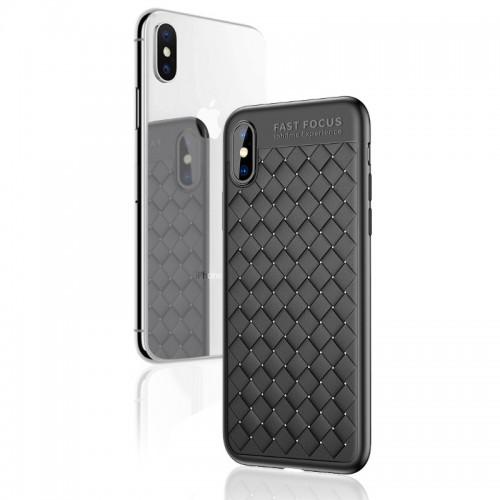Handyhülle FüR iPhone 6/7 / 8P / X/ XS / XR /XS MAX Gewebt Muster Wärmeableitung