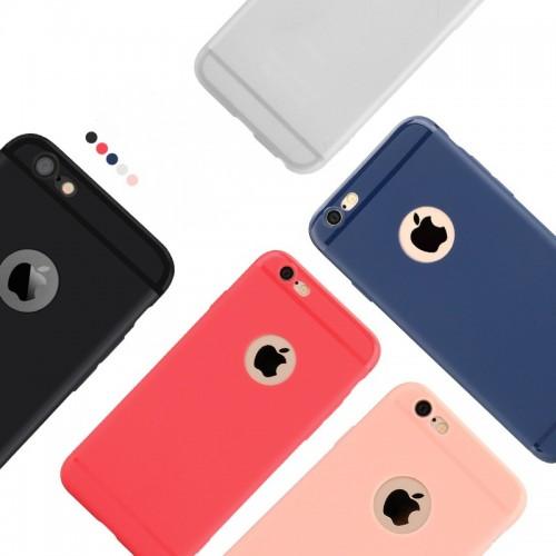 Mattierte Gelee Kreative Ultra Thin Phone Case für iPhone 6/7 / 8P / X/ XS / XR /XS MAX