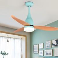 """Deckenventilator mit Fernbedienung, 3-Licht-Deckenventilator 3 Geschwindigkeitsarten LED-Deckenventilator 44 """"LED-Leuchten Fan-Licht"""