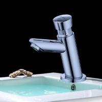 Automatische Verzögerung einzelner kalter Badezimmerbassinhahn