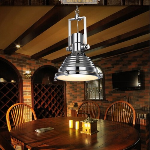 Metallpendelleuchte Retro Rustikale Loft Antike Lampe Vintage Dekorative Lichter