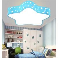 Deckenleuchte LED Deckenlampe mit Star und Mond Design romantische Led Wandlicht Kinderlampe Kinderleuchte für Wohnzimmer Schlfzimmer Spielzimmer