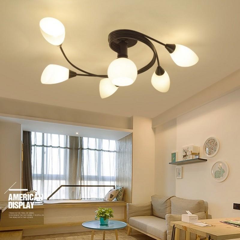 Unterputz-Deckenleuchten des rustikalen Art-LED, kreative  Wohnzimmer-Deckenleuchte, Schlafzimmer-Deckenleuchte, Deckenleuchte für  Esszimmer