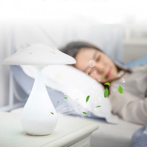 Pilz-Luftreinigungs-Tischlampe Touch-Schreibtischlampe zum Aufladen Dimmbare Leselampe für Kinder