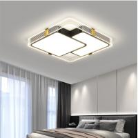 Moderne Linie einfache Persönlichkeit Deckenlampe kreative Schlafzimmerlampe